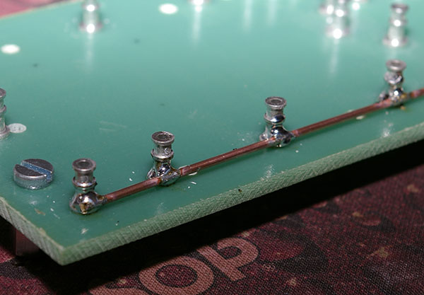 Alim preamp board - detail